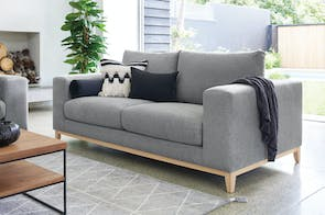 Turin 2.5 Seater Fabric Sofa