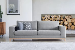 Turin 3.5 Seater Fabric Sofa