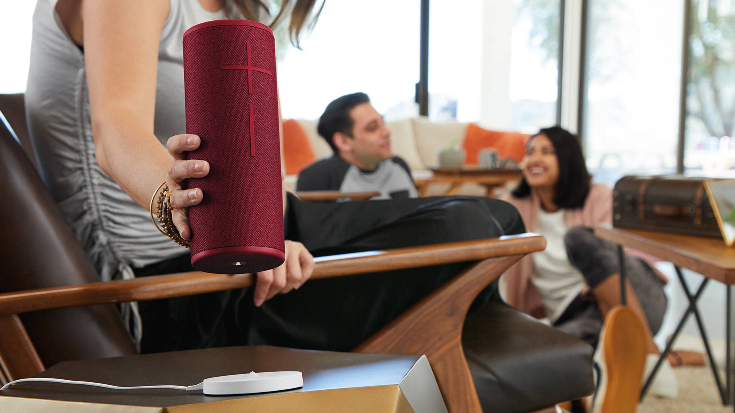 Ultimate Ears MEGABOOM 3 Bluetooth Speaker - Sunset Red