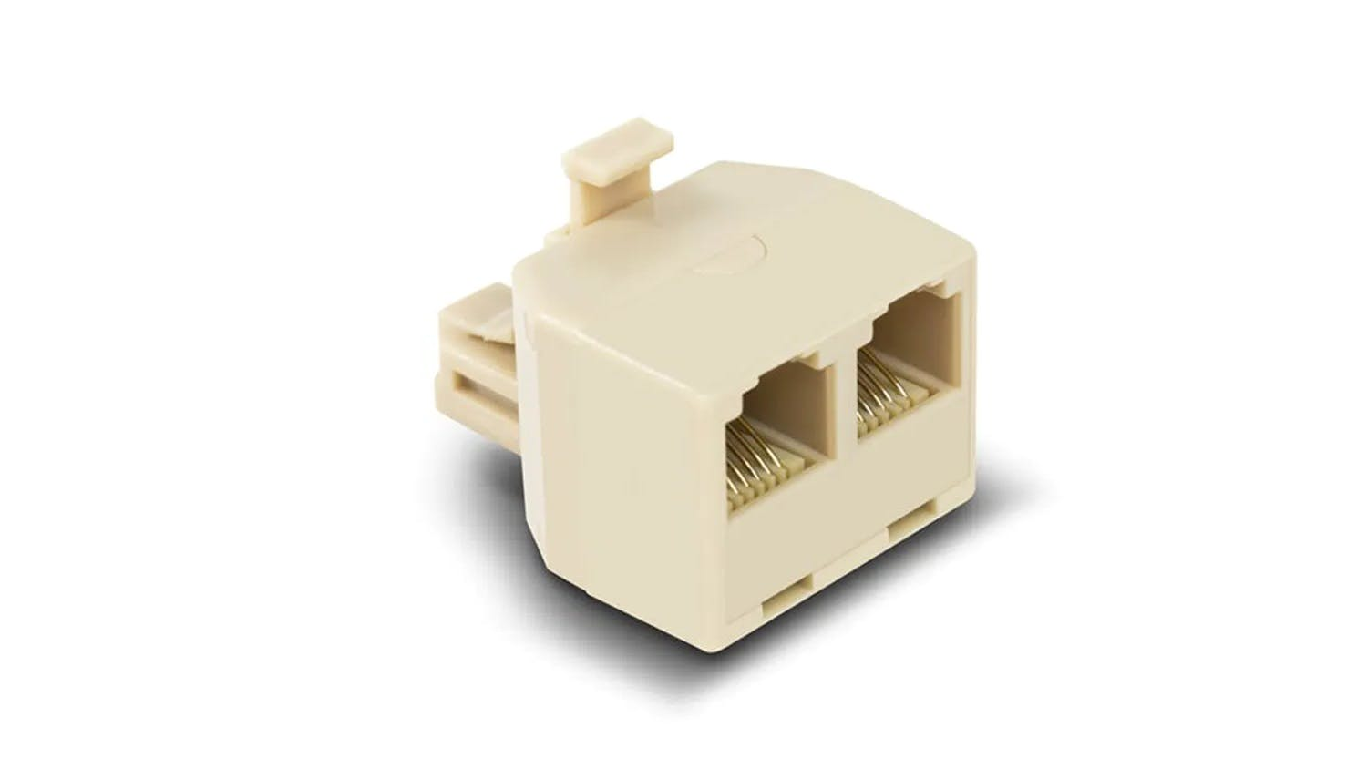 Alogic RJ11 Modular Line Splitter - Male to Female