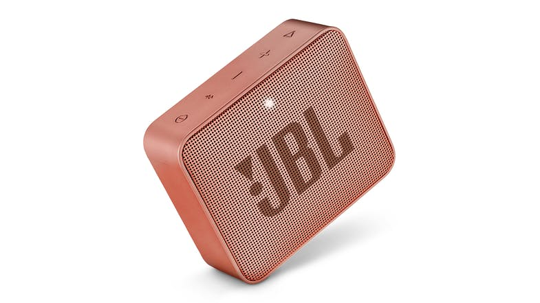 JBL Go 2 Portable Bluetooth Speaker - Cinnamon Brown