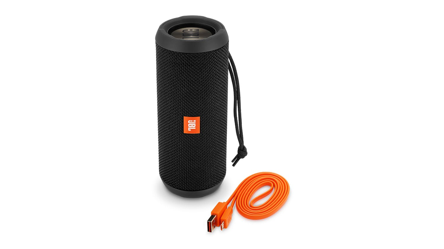 JBL Flip 3 Stealth Edition Bluetooth Speaker - Black