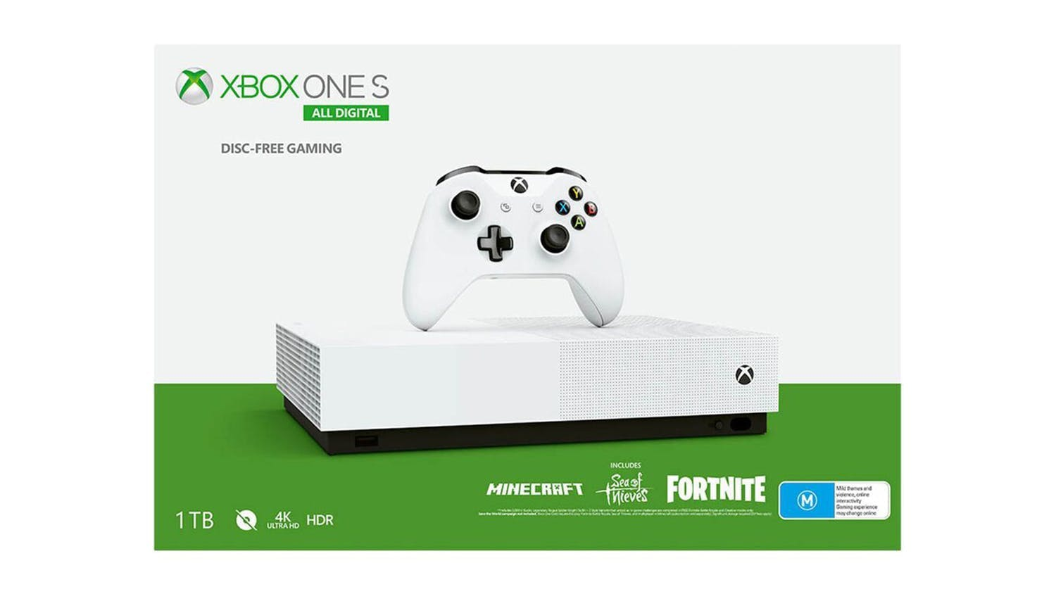 Xbox One S 1TB Console All-Digital Edition V2 (M)