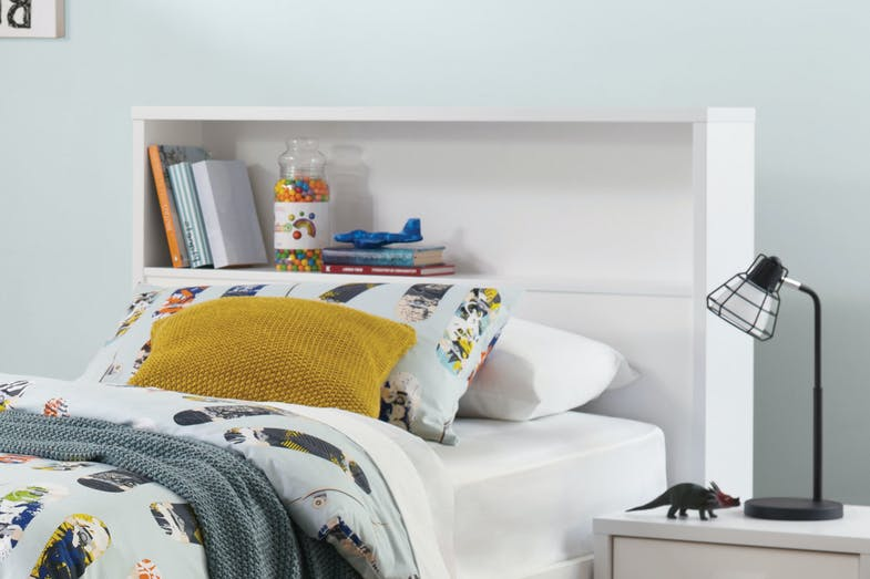 Hero Single Storage Headboard by Platform 10