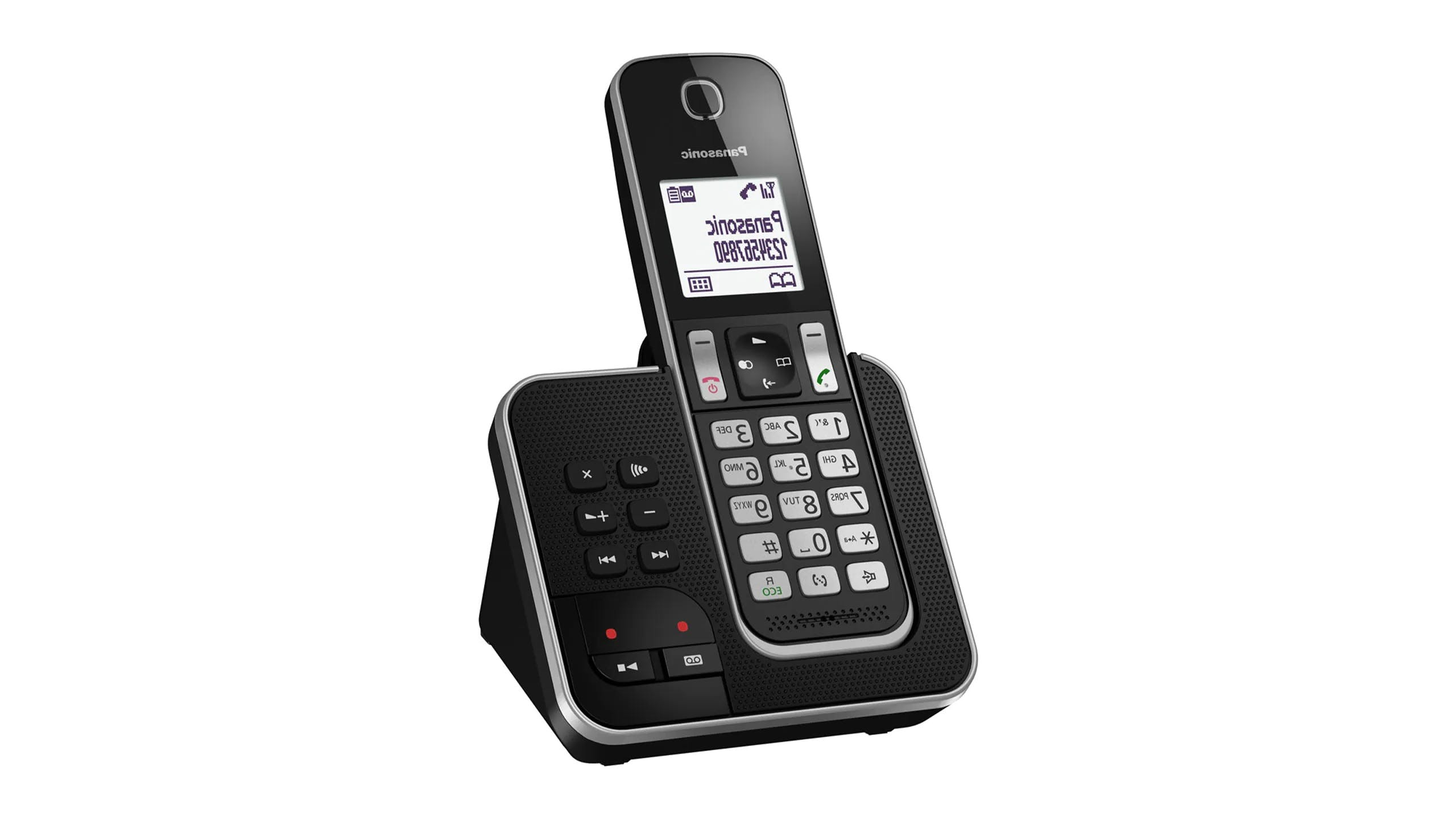 Panasonic KX-TGD320NZB Single Handset Cordless Phone