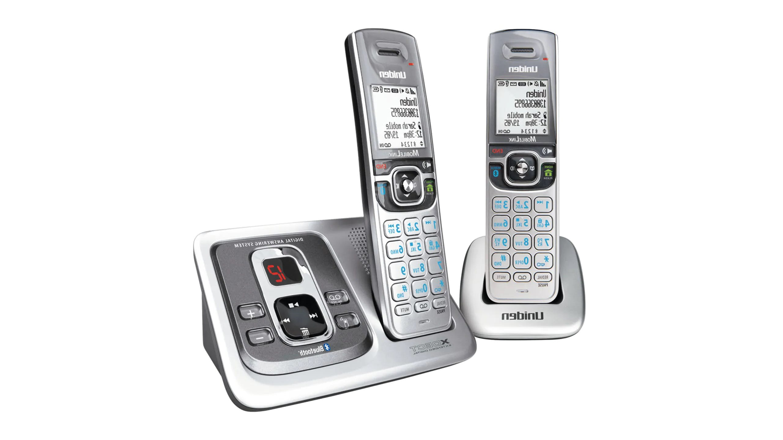 Uniden XDECT5135+1 Bluetooth Twin Handset Cordless Phone
