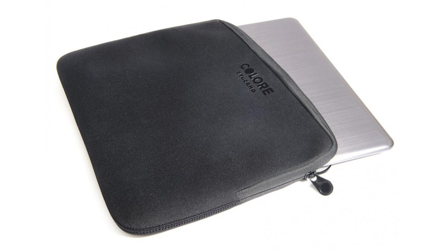 "Tucano Colore Second Skin 13"" Laptop Sleeve - Black"
