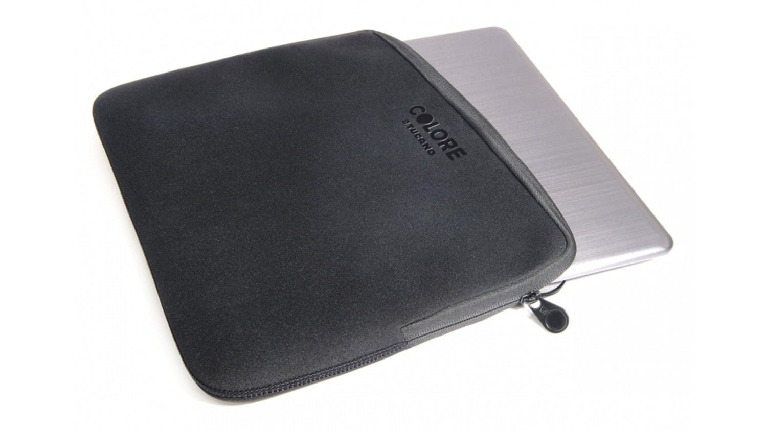 "Tucano Colore Second Skin 15.6"" Notebook Sleeve - Black"