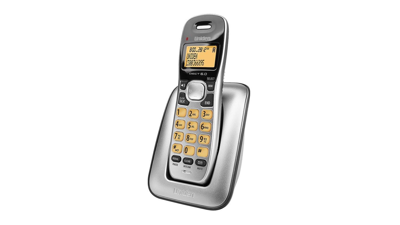Image of Uniden DECT 1715 Single Handset Cordless Phone - Black