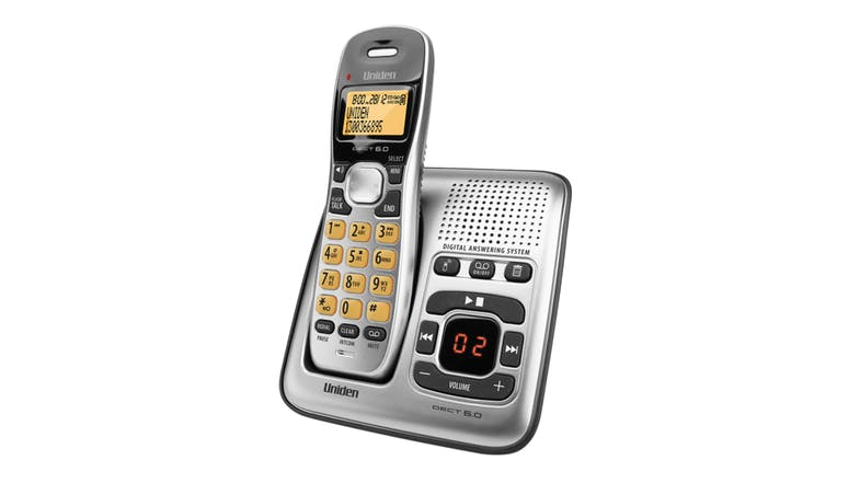 Uniden DECT 1735 Single Handset Cordless Phone