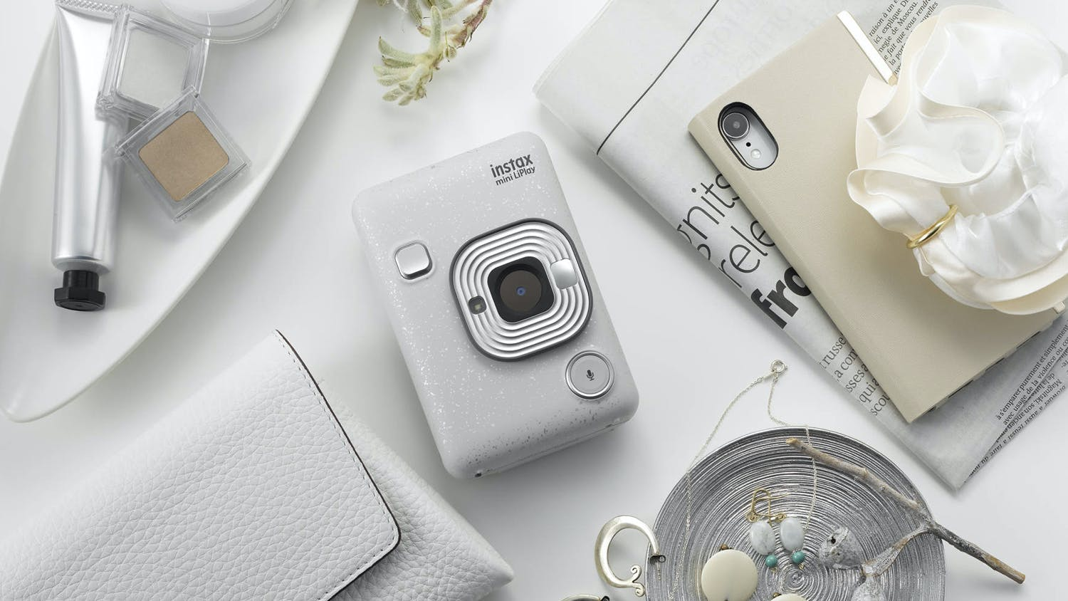 Instax Mini LiPlay - White