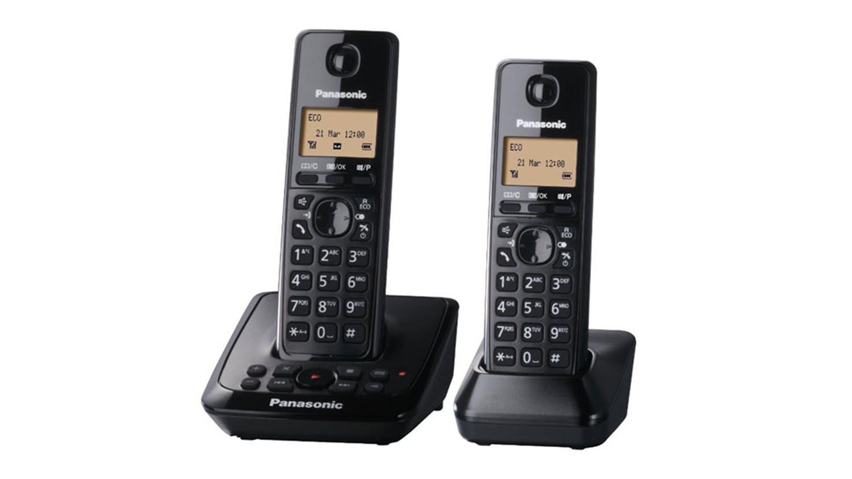 Image of Panasonic KX-TG2722 Twin Handset Cordless Phone