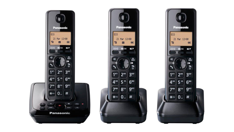 Image of Panasonic KX-TG2723 Triple Handset Cordless Phone