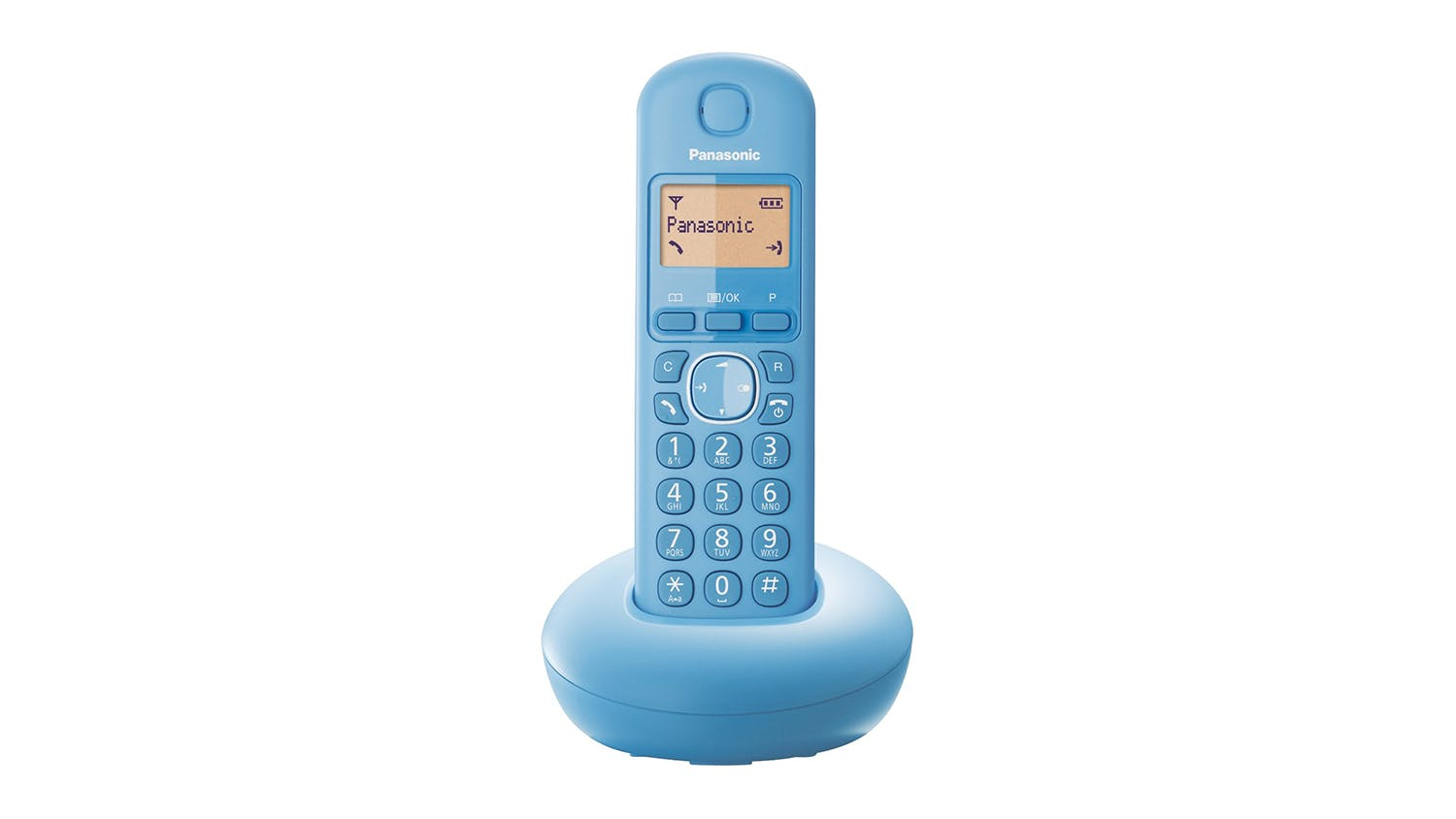 Panasonic KX-TGB210 Single Handset Cordless Phone - Blue