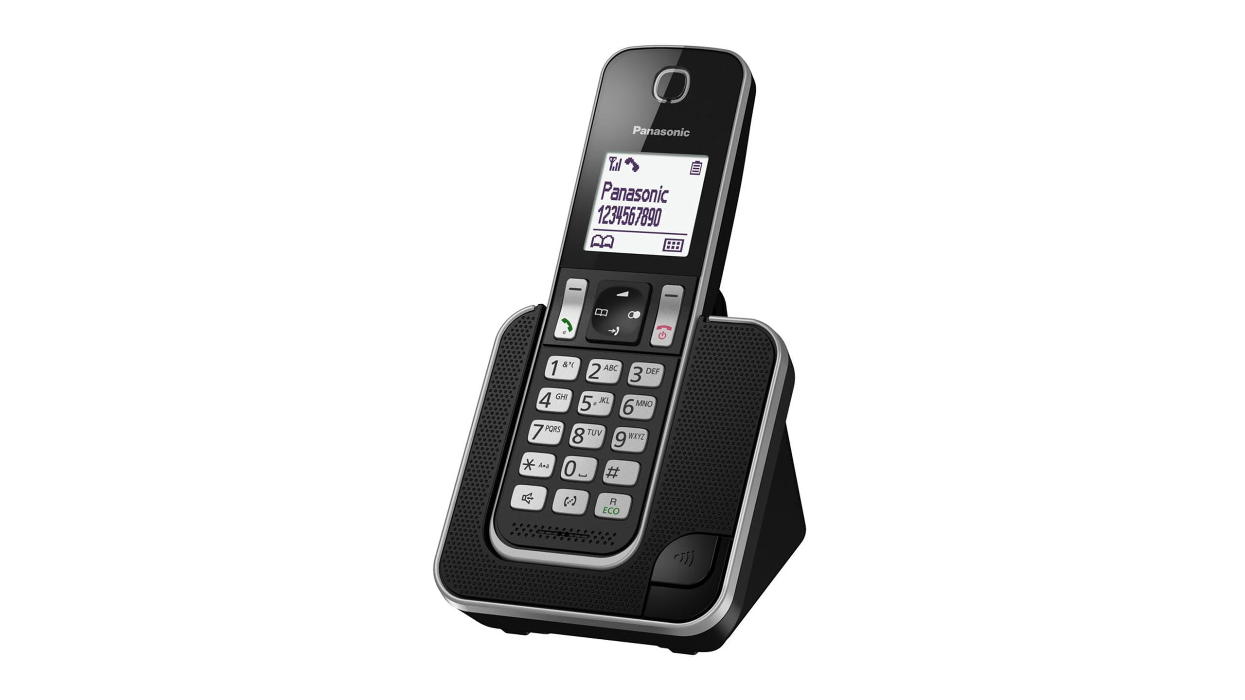 Image of Panasonic KX-TGD310NZB Single Handset Cordless Phone