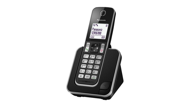 Panasonic KX-TGD310NZB Single Handset Cordless Phone