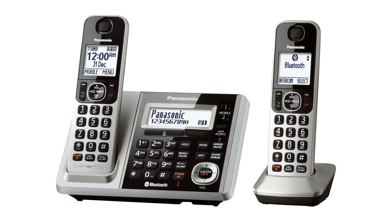 Image of Panasonic KX-TGF372AZS Twin Handset Cordless Phone