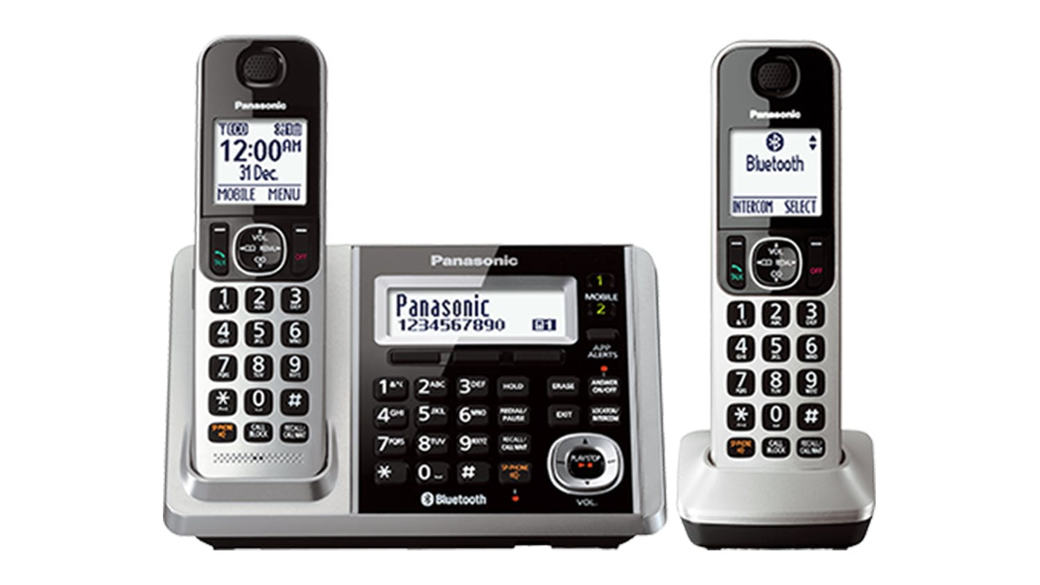 Panasonic KX-TGF372AZS Twin Handset Cordless Phone