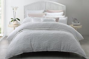 Maison White Duvet Cover Set by Private Collection