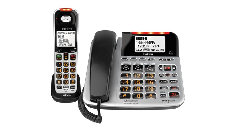 Uniden XSE47+1 Twin Handset Cordless Phone