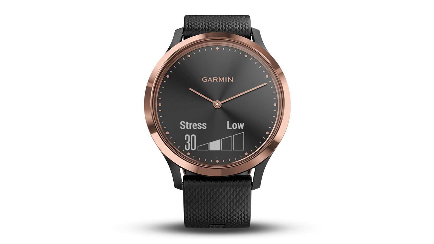 Garmin vivomove HR Sport - Black & Rose Gold S/M