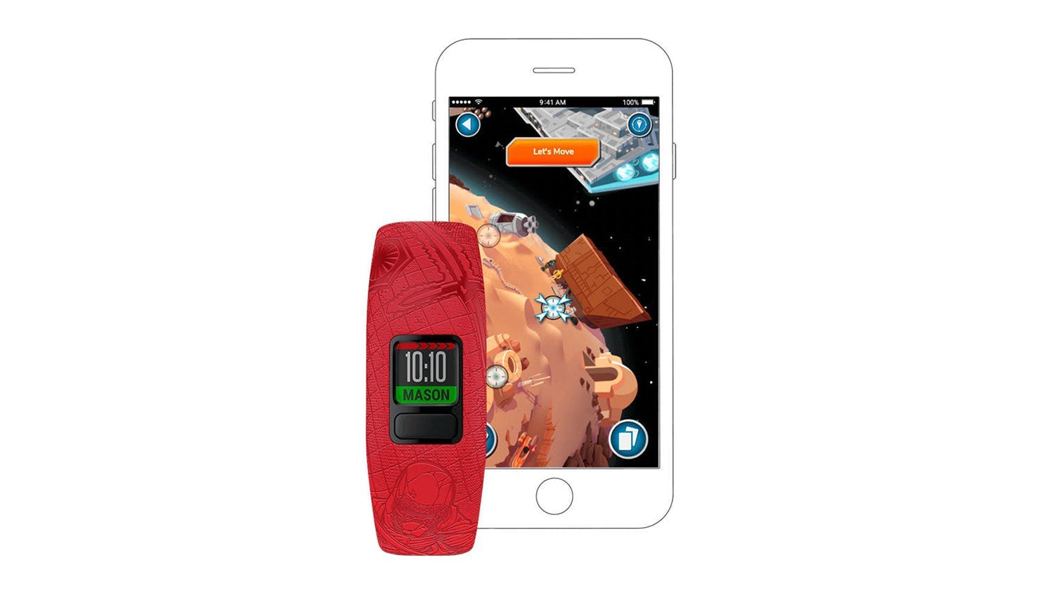 Garmin vivofit JR 2 Adjustable - Star Wars Dark Side