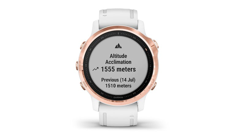 Garmin fenix 6S Pro - Rose Gold/White
