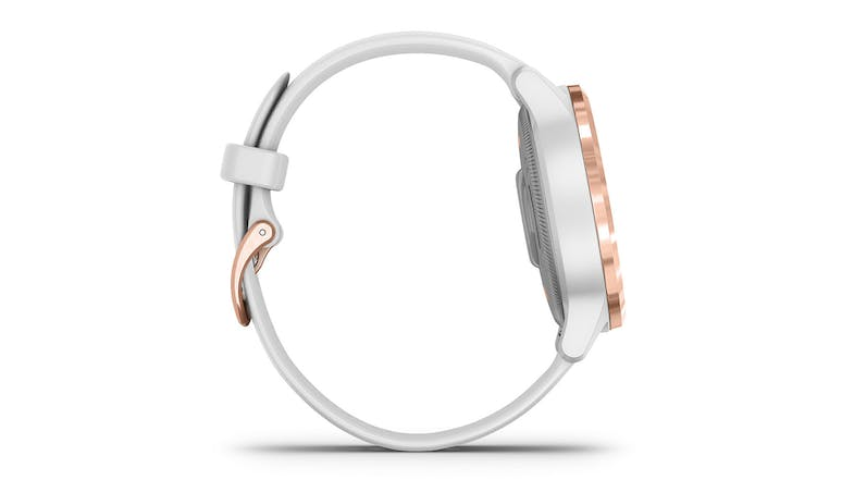Garmin vivoactive 4S - White/Rose Gold