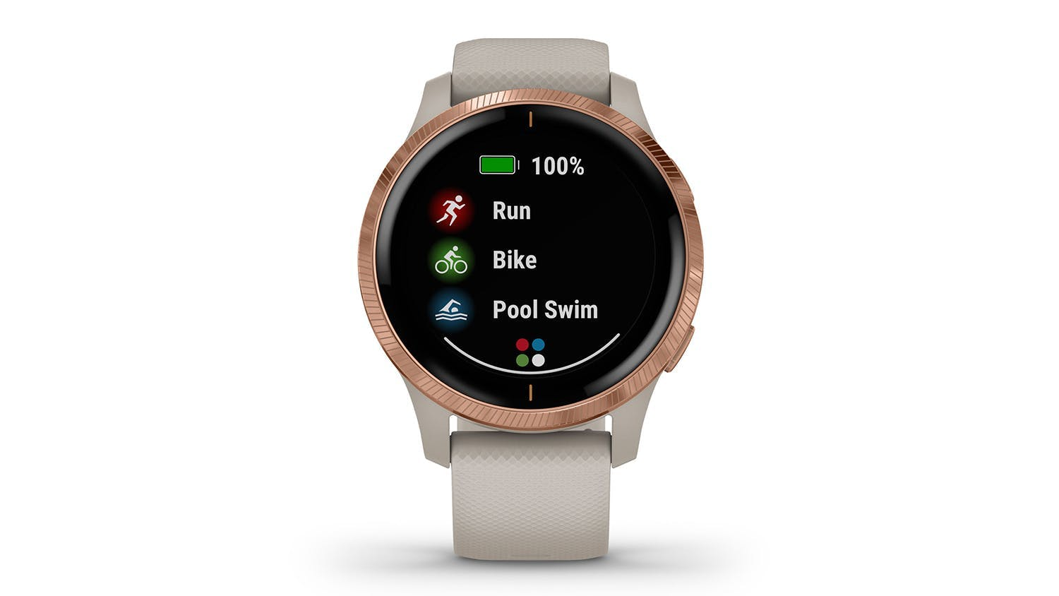 Garmin Venu - Light Sand/Rose Gold