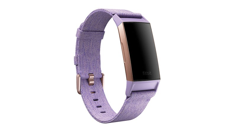 Fitbit Charge 3 - Lavender Woven Band/Rose Gold Aluminium (Special Edition)