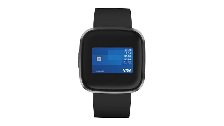 Fitbit Versa 2 - Black/Carbon