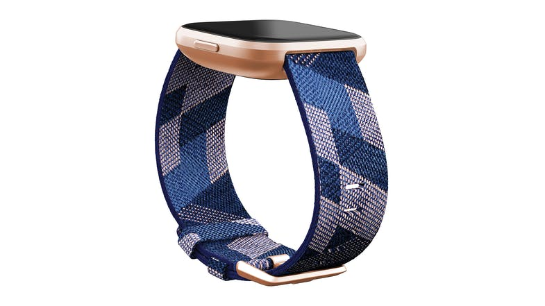 Fitbit Versa 2 - Navy & Pink Woven/Copper Rose (Special Edition)