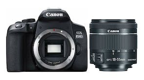 Canon EOS 850D DSLR with EF-S 18-55mm f/4-5.6 IS STM Lens Kit