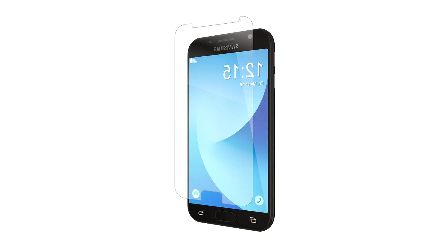 Zagg Invisibleshield Glass & Screen Protector for Samsung Galaxy J3