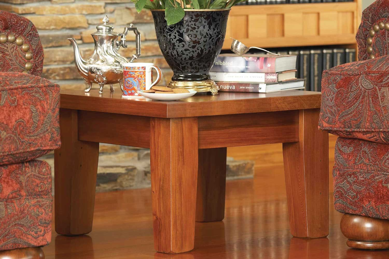 Clutha Lamp Table By Woodpecker Furniture