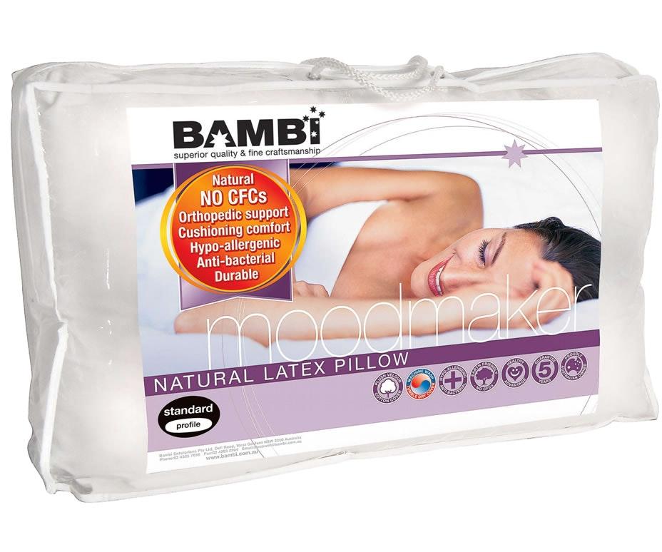 Moodmaker Latex Pillow by Bambi