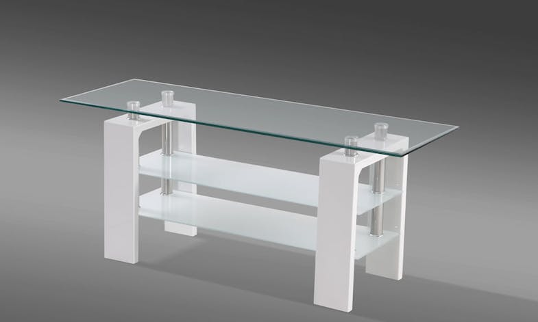 Munich Entertainment Unit by Paulack Furniture - White