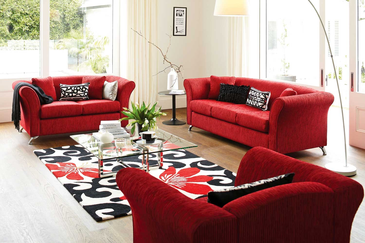 Tommy 3 Piece Lounge Suite by Furniture Haven