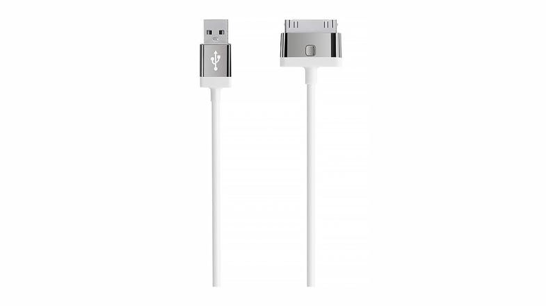 Belkin MIXIT 30-Pin to USB ChargeSync Cable - White