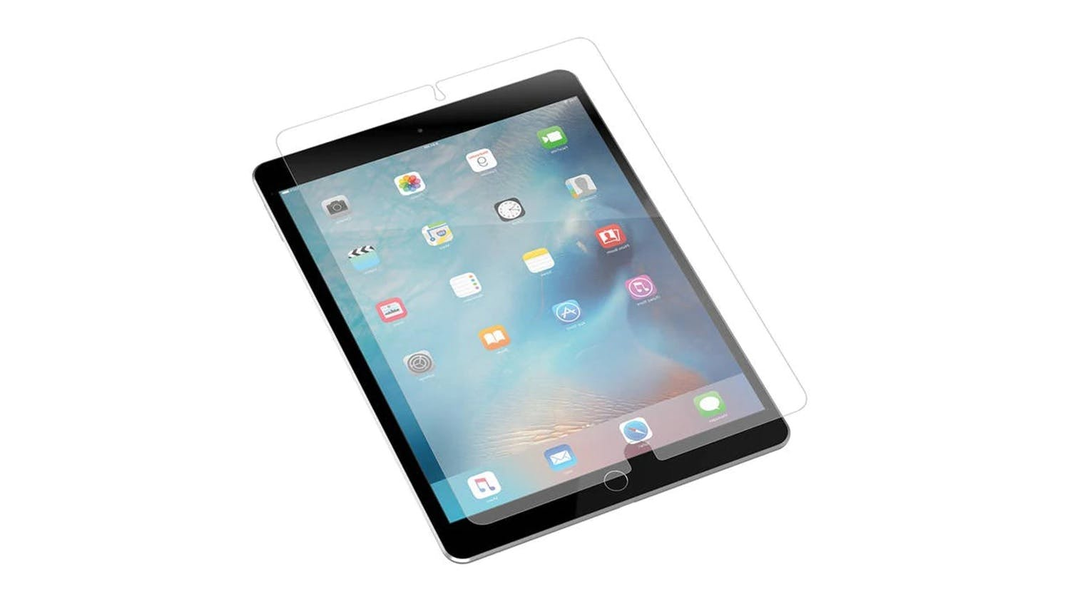 Zagg InvisibleShield Glass+ Screen Protector for iPad 9.7