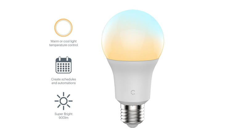 Cygnett Smart Bulb Ambient White 9W (E27) - Screw