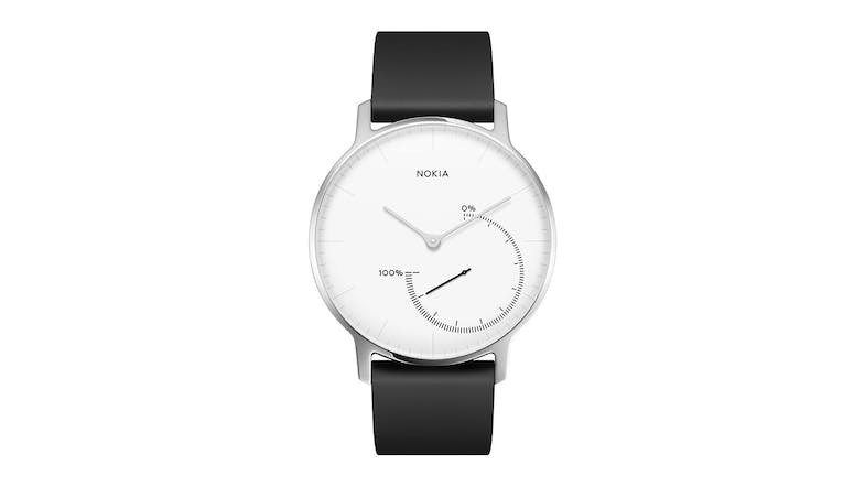 Withings Activite Steel Smartwatch - Black/White