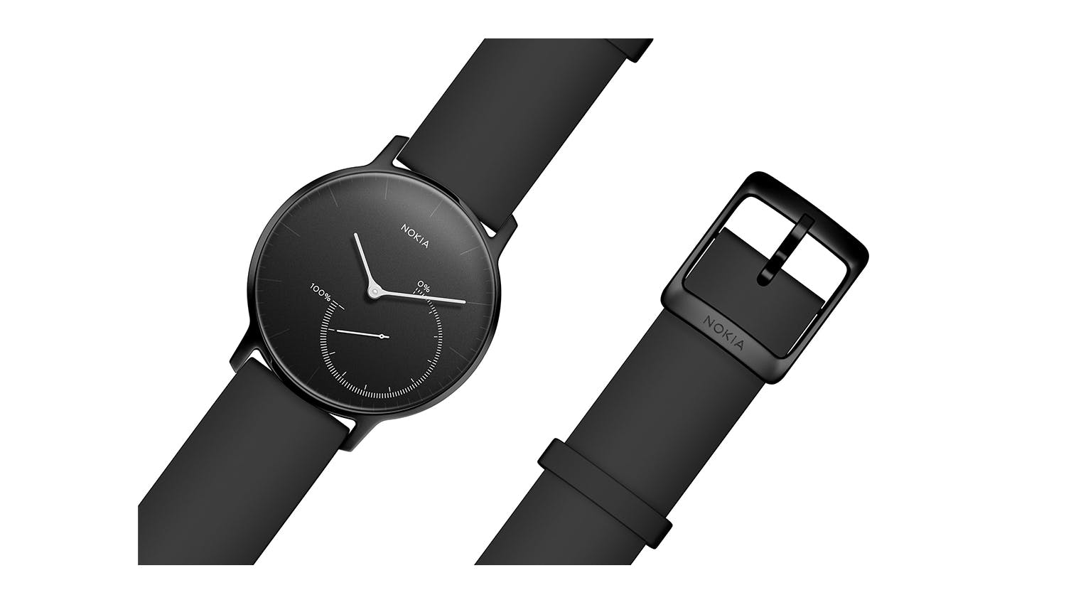 Withings Activite Steel Smartwatch - Full Black
