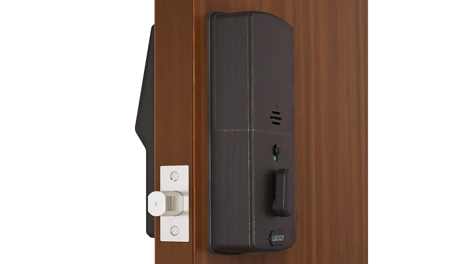 Lockly Secure Plus Deadbolt Door Lock with Fingerprint Access - Venetian Bronze
