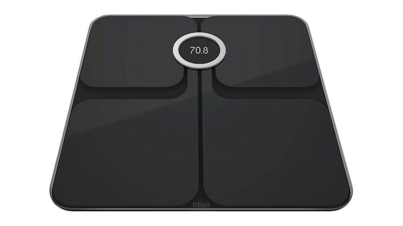 Fitbit Aria 2 Wi-Fi Smart Scale in black