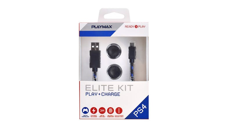 Playmax Play and Charge Elite Kit for PS4