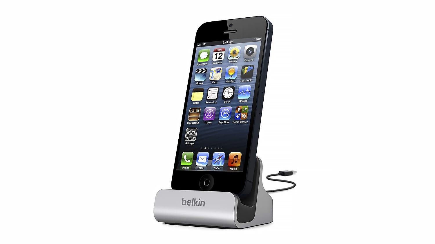 Belkin MIXIT Lightning ChargeSync Dock - Silver