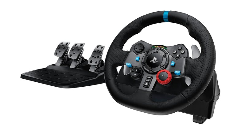 Logitech G29 Driving Force Racing Wheel For PlayStation 3 and 4