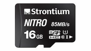 Strontium Nitro Micro SD Card - 16GB with SD Adapter