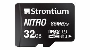 Strontium Nitro Micro SD Card - 32GB with SD Adapter